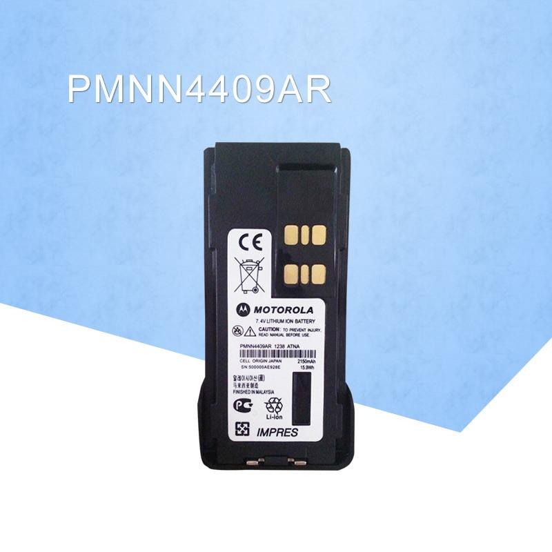 بطارية عامة PMNN4409AR MOTOTRBO IMPRES ليثيوم أيون 2200mah لموتورولا GP328D XiR P8668 XPR 7550 DP4800 DGP8550 DMR راديو