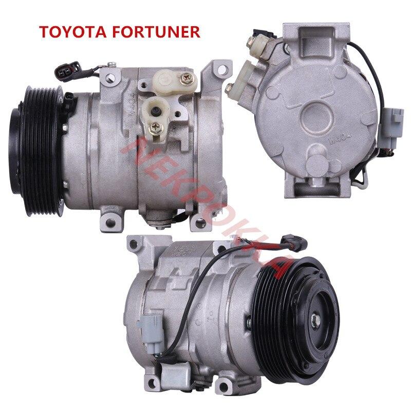 Aire conditioningl compresor para Toyota FORTUNER/RAV4... compresor 7PK 10 S 15C