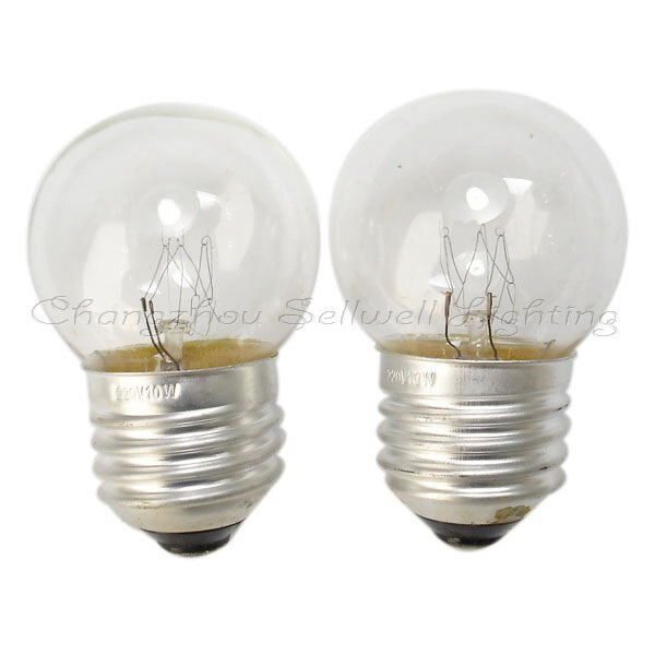 Great!miniature Bulbs Lamps 220v 10w E27 G40x64 A148