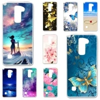 tpu cases for lg stylus 2 plus k530 case silicone floral painted bumper for lg stylo 2 k520 stylus ii 5 7 inch phone cover