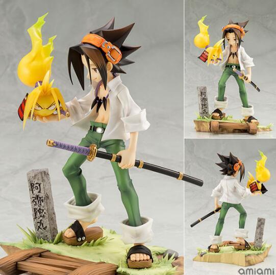 18cm ARTFX J Anime Shaman King Yoh Asakura 1/8 Anime Action Figure PVC Nieuwe Collection cijfers speelgoed Collectie voor vriend gift