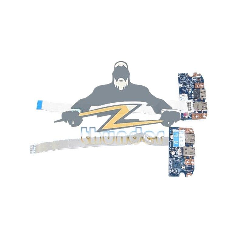 NOKOTION USB 2.0 Board Met Kabel 5750 serie voor gateway NV57 NV57H P5WE0 LS-6904P