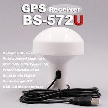 BEITIAN USB 2.0 interface 2,0 meter Auto-angepasst baudrate 4M FLASH 5,0 V USB ebene GPS empfänger BS-572U