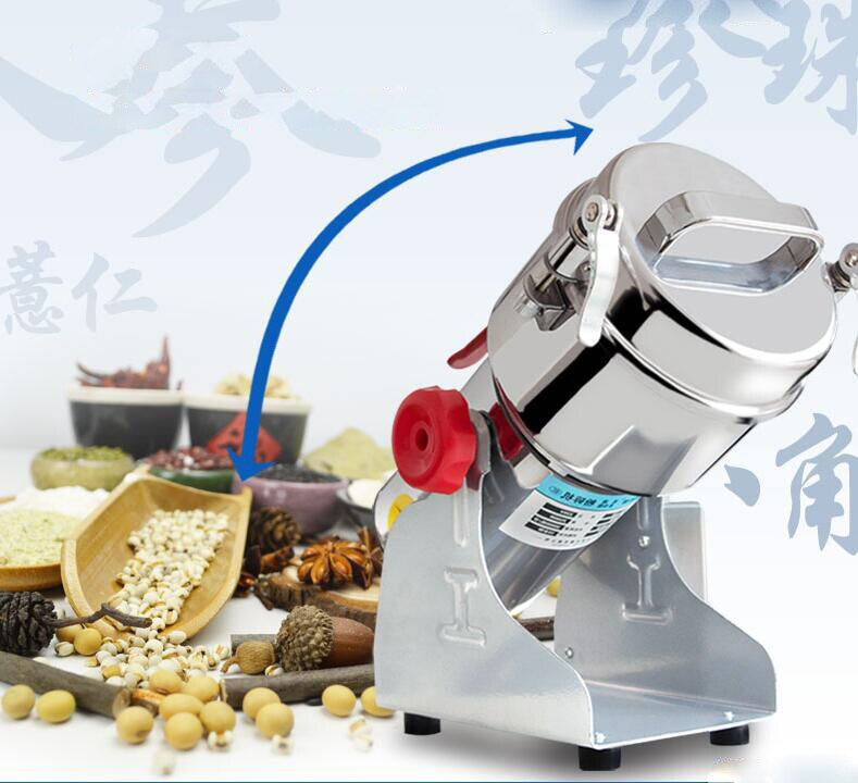 Medicinal tradicional Chinesa herb grinders moagem de grãos de Cereais em pó máquina de moagem Ultrafina máquina maquinaria de Moagem de farinha