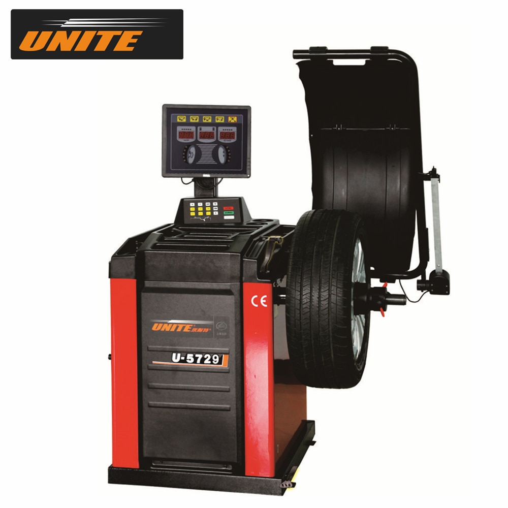 "UNITE equilibrador para rueda de coche U-5729 línea superior de seguimiento pegajoso modo de equilibrio 17 ""Pantalla de segmento LED"