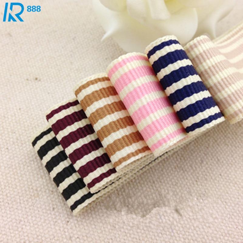 40mm/4 cm de espesor de doble cara cintas accesorios de lazos de manualidades cinta hecha a mano cinta acanalada 3 tamaño 5 m/lote