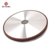 200*12*32*4mm Resin Bond Diamond Grinding Wheel 150 Grits Flat Grinding Wheels Power Tool For Carbide Abrasive Tools