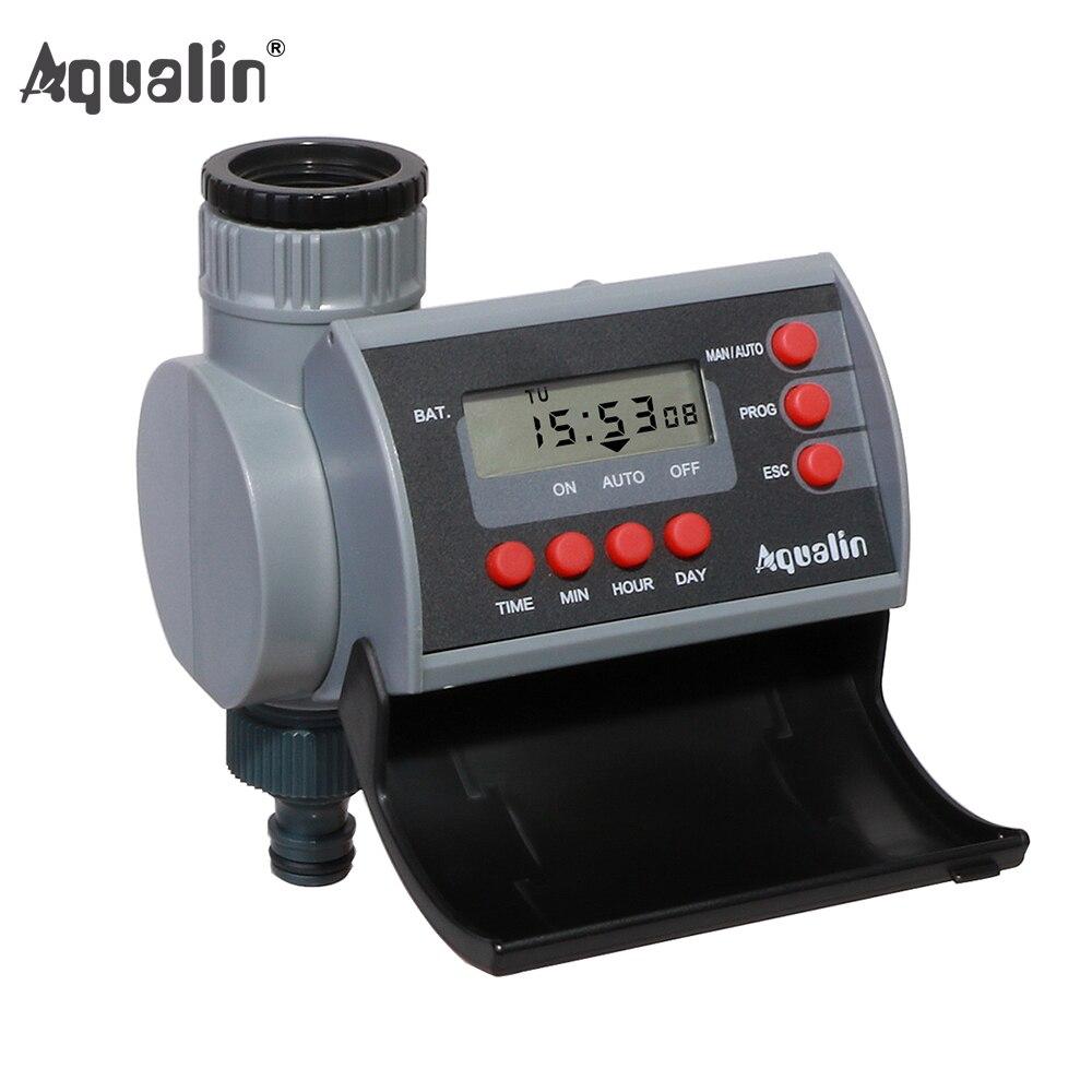 Válvula Solenoide Digital hogar jardín automático temporizador de agua jardín Sistema de controlador de riego con pantalla LCD #21002