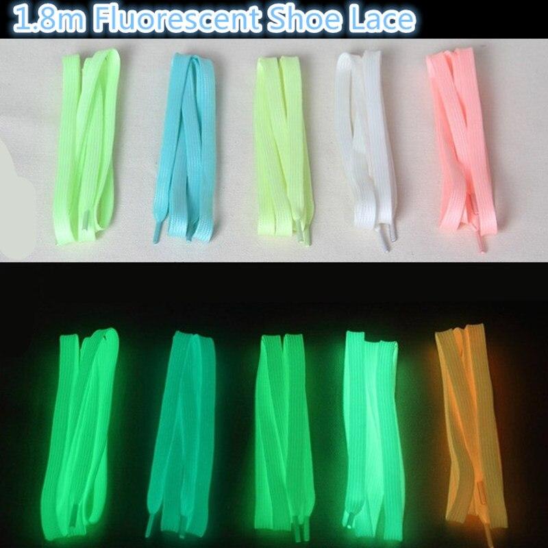 1.8m Length Fluorescent Skating Shoe Lace for Inline Roller Skates for SEBA HV IGOR High For Powerslide For RB