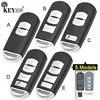 KEYECU pour Mazda 3 5 6 CX-5 CX-7 remplacement de CX-9 2/ 3/ 2 + 1/ 3 + 1/ 4 bouton clé de voiture à distance intelligente