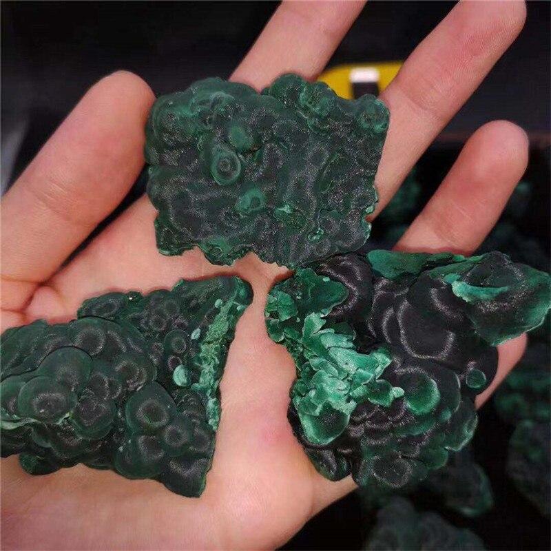 Mineral Natural de malaquita, mineral en bruto, piedras preciosas de cristal original