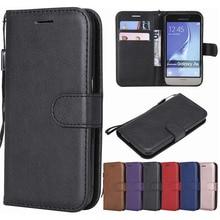 Leather Case For Samsung Galaxy J1 2016 Case J120 Flip Wallet Card Slot Cover For Samsung J1 2016 J 1 6 Phone Case Coque Fundas