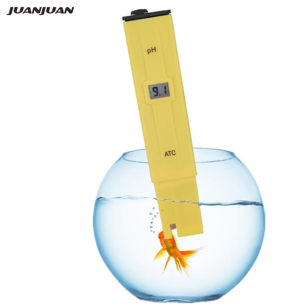 50 قطعة/الوحدة مختبر بي اتش الرقمية مقياس درجة الحموضة المياه جهاز اختبار جودة الماء متر 0.0-14.0pH للحمامات ، الحوض و مياه الشرب 30% قبالة