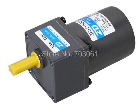 15 W monofásica 220 v 50 hz motor da engrenagem reversível AC AC reversível do motor Micro motor da engrenagem da CA ratio 151