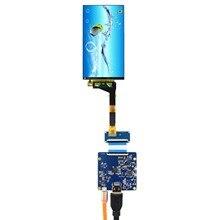 50pin MIPI Connettore Retroilluminazione WLED Schermo LCD da 5.5 pollici VS-HDMITMIPI-V1 HDMI Scheda di Controllo LCD 1440X2560 Risoluzione