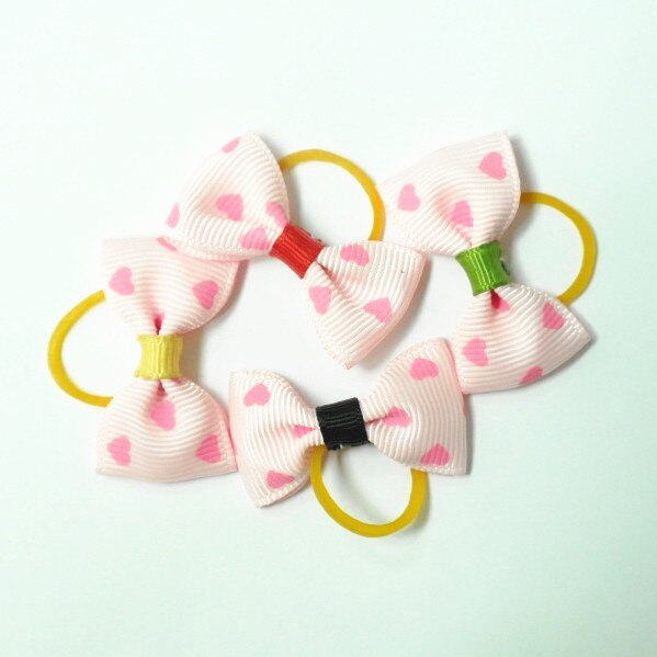 300 قطعة/الوحدة يتوهم الوردي القلب الاستمالة الشعر الانحناء نوعية جيدة شحن مجاني