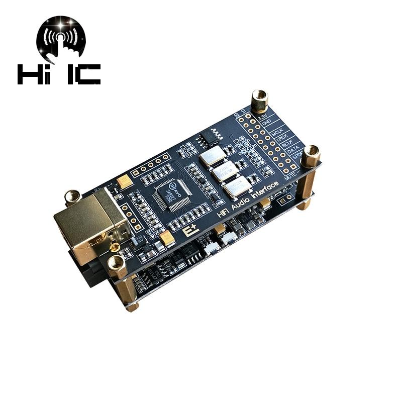 De AUDIO de alta fidelidad, decodificador SA9227 + ES9038Q2M USB DAC ES9038 asíncrono módulo USB OPA1612 + AD8397/doble NE5532 DSD128 32Bit / 384Khz