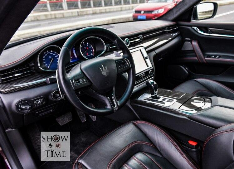 Fit for Maserati Ghibli carbon fiber Interior patch