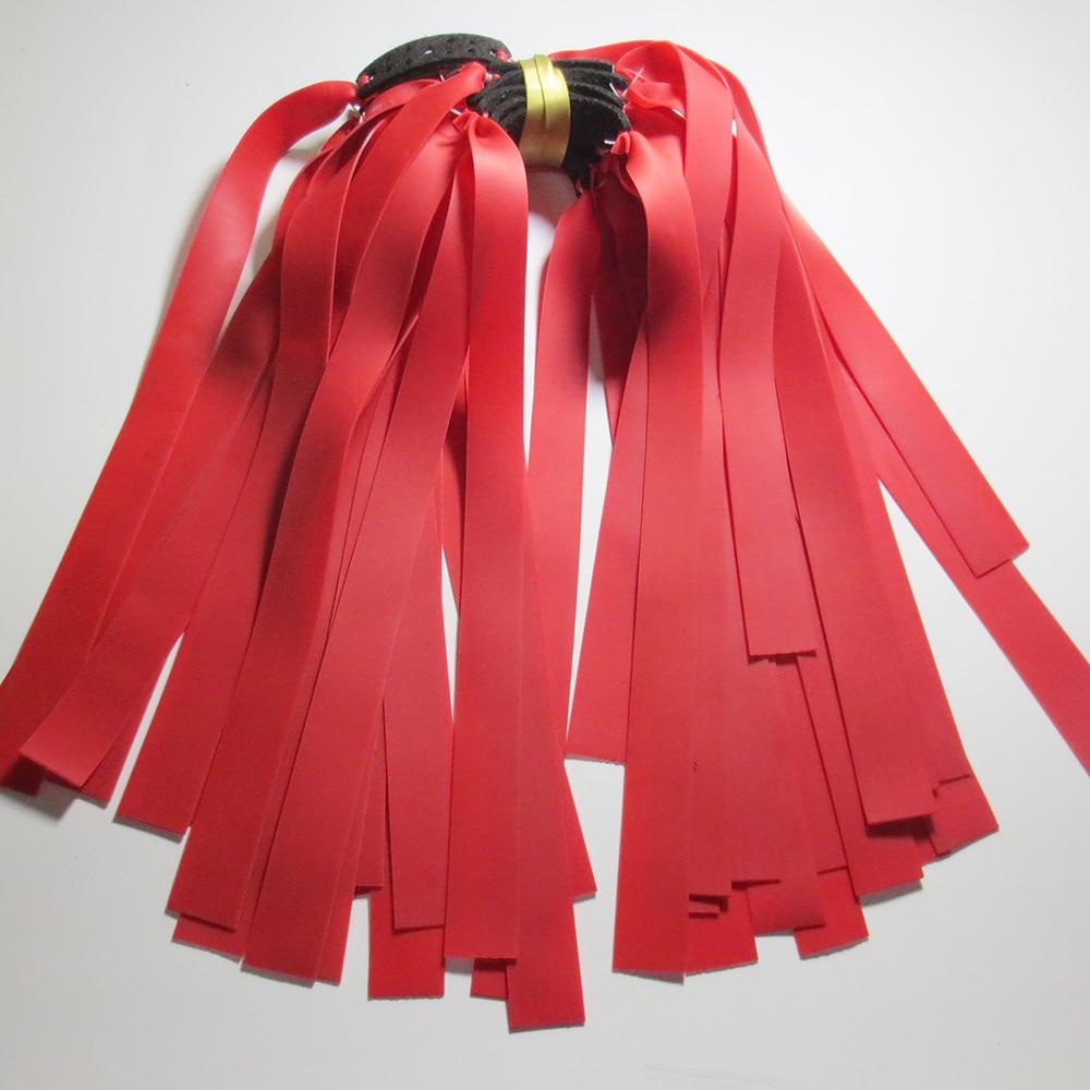 10 шт. Резиновая лента 0,75 мм-1,0 мм Толщина хорошее качество Рогатка плоская с резиновой лентой латексная резина