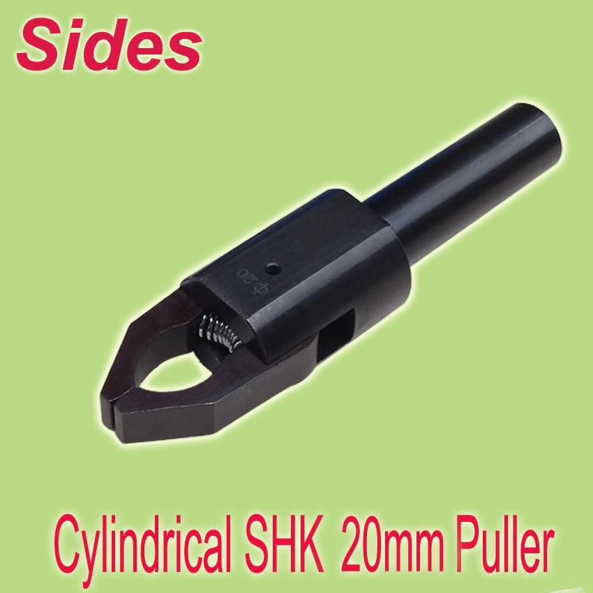 Envío Gratis 20mm rango de vástago cilíndrico 3-45mm CNC barra Extractor de producción Auto Link ajuste más fácil para de torno