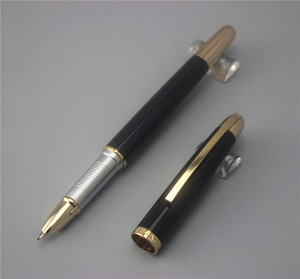 black JINHAO 606 free shipping fountain pen and bag High quality men women pens luxury business gift school office supplies 015