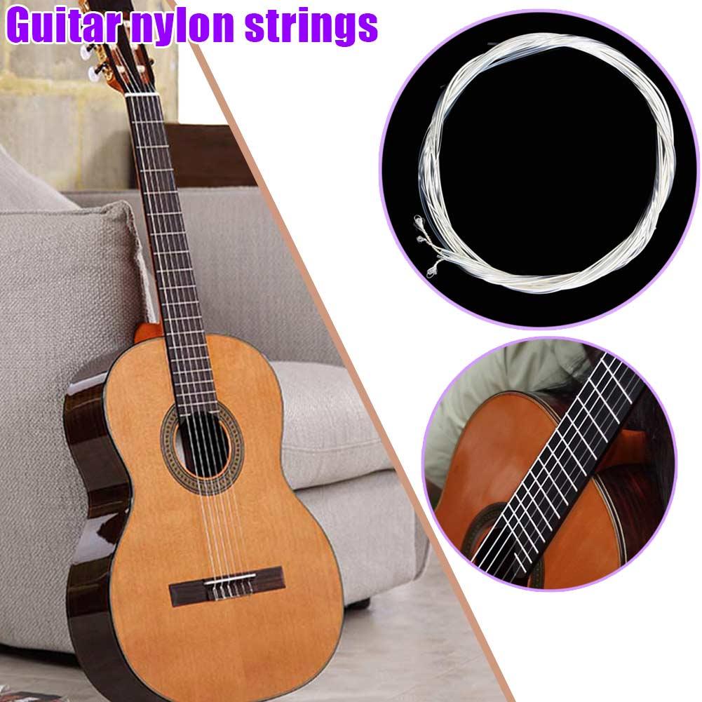 Cuerdas de guitarra musical 6 cuerdas guitarra eléctrica acústica clásica EDF88