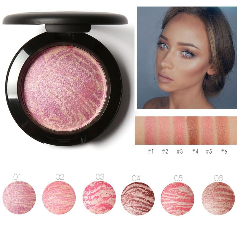 Make Up Blushes Face Bronzer Blushes Powder Cosmetic Natural Base Makeup Highlighter Face Contour Blush