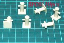 5 uds/10 Uds bolards de resina Marina 20x6mm Base 13x13mm Mini Bitt decoración Caballero amarre Bitt para RC simulación barco/barco Manual