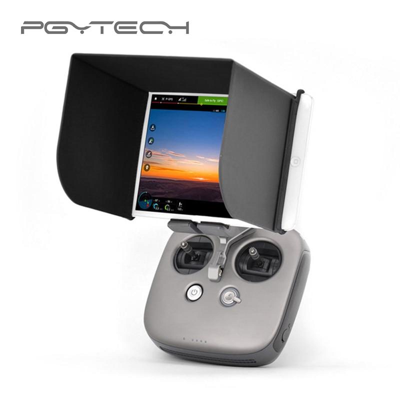 PGYTECH 7.9 / 9.7 inch Monitor Hood Tablet Phone Sun Hood Remote Control Sunshade for DJI Mavic Pro / Air Phantom4 Pro Inspire 2