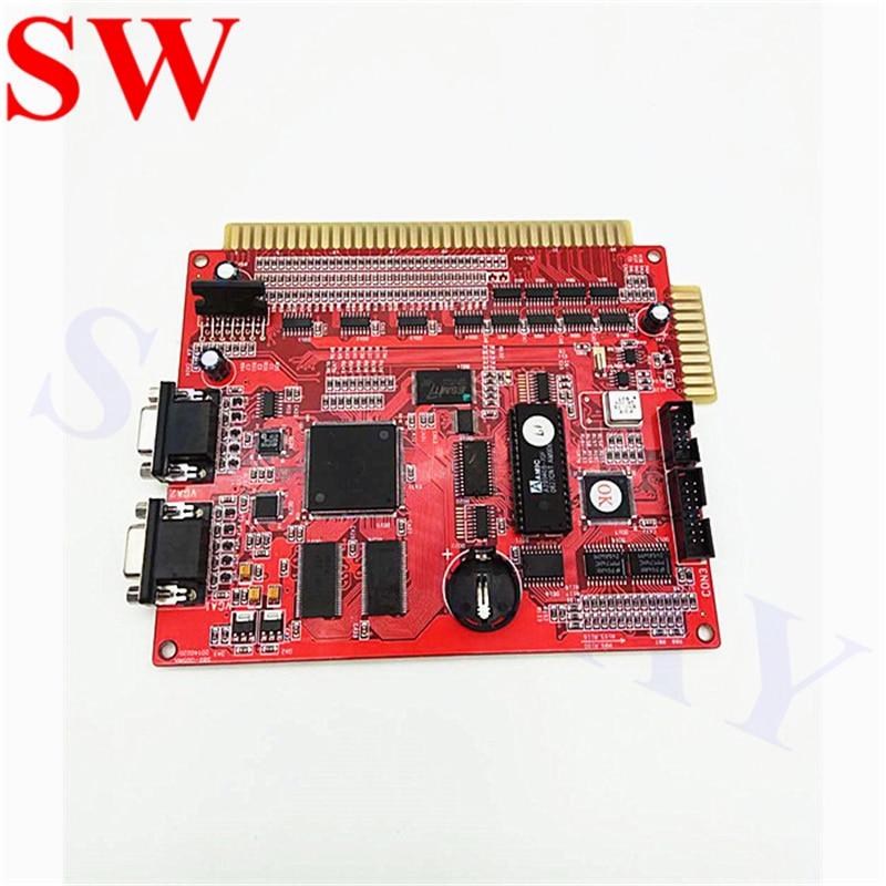 Arcade game red casino board XXL 17 in 1 PCB/2 VGA slot game board/multi games gambling board for LCD slot arcade game machine