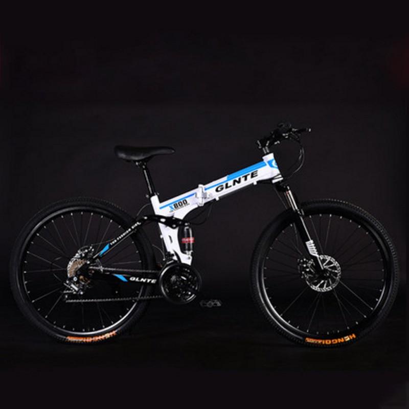 Bicicleta de Montaña plegable radio amortiguador adulto 24/26 pulgadas 21/24/27 velocidad