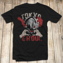 Naruto Tokyo Ghoul Men'S T Shirt 100% Cotton Anime Manga 2019 New Fashion Design Men Brand In Fashion Cotton Tee shirt Printed