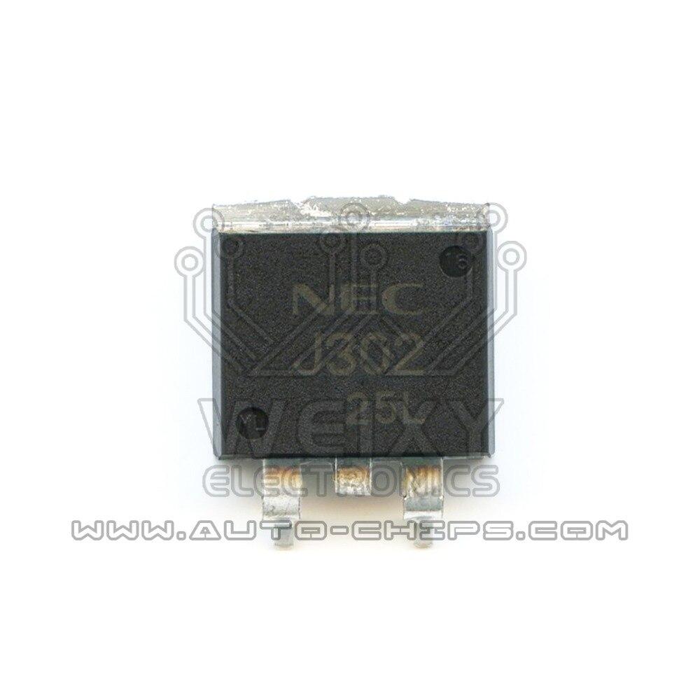 Chip NE J302 para automoción ECU