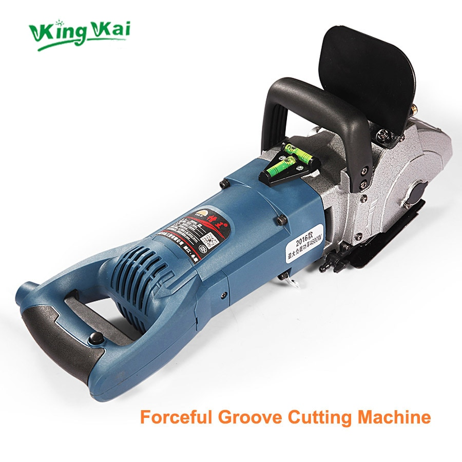 E 121mm 4800W Blade CW6121 Multifunction Wall Stone Road Groove Cutting Chasing Machine Maximum 5pcs Blades enlarge