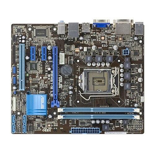 משמש ASUS P8H61-M LE Socket LGA 1155 DDR3 16GB תמיכה I3 I5 I7 משולב uATX שולחן העבודה האם