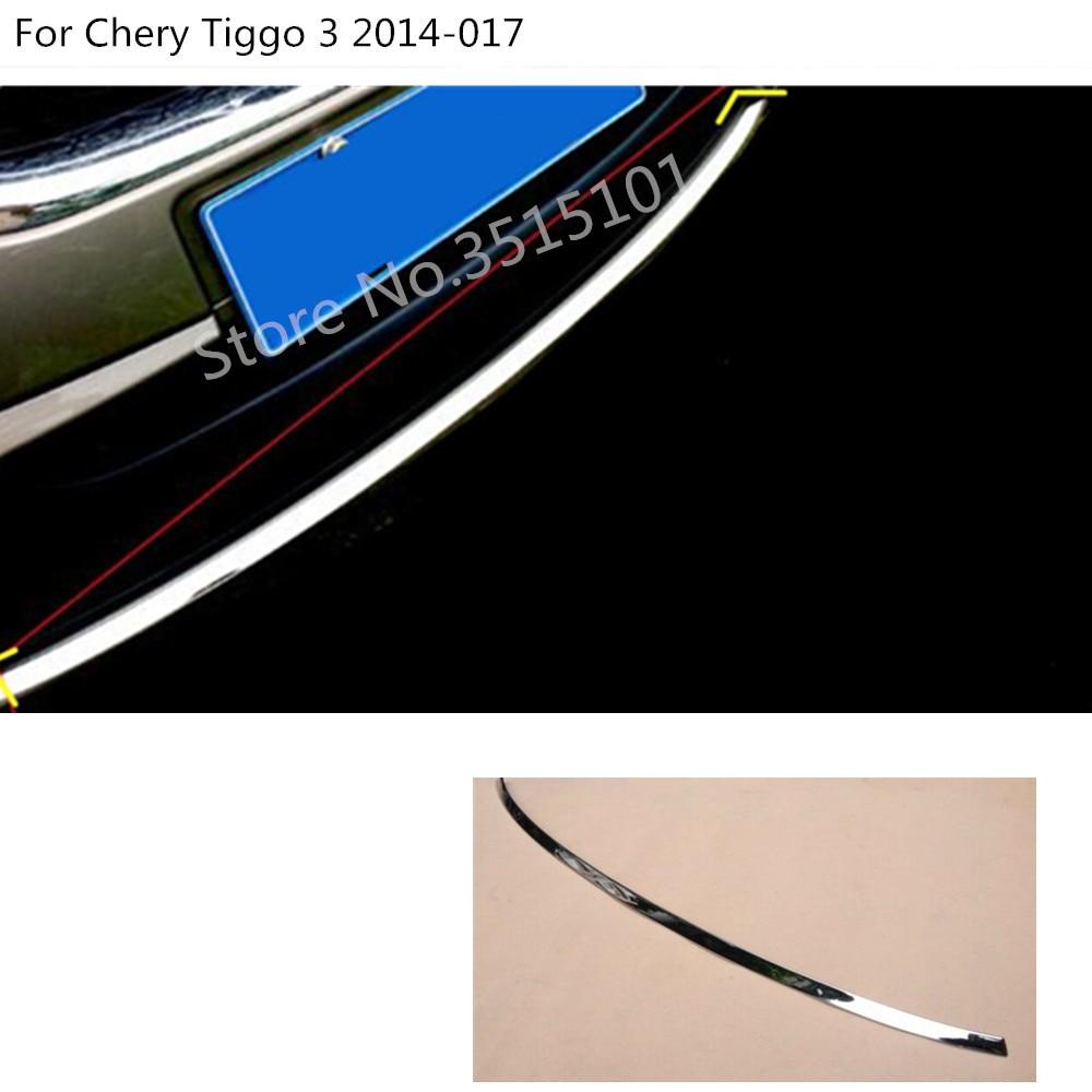 Car cover protection detector trim Front bottom Grid Grill Grille racing edge For Chery Tiggo-3 Tiggo3 2014 2015 2016 2017