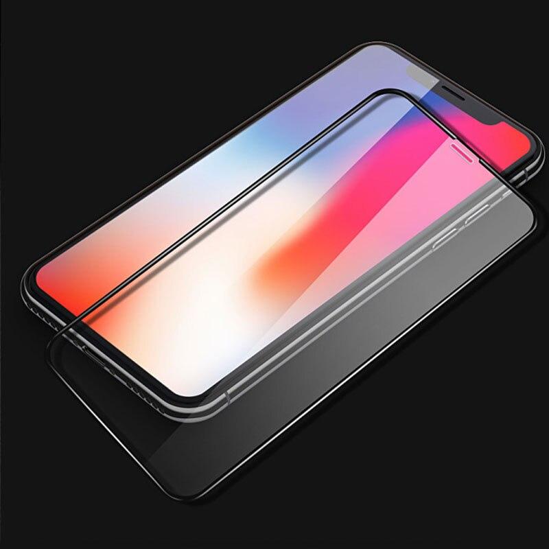 Templado protector de pantalla de vidrio para iphone x iphone X verre trempe guardia szklo sklo pelicula vidrio cristal pantalla mica