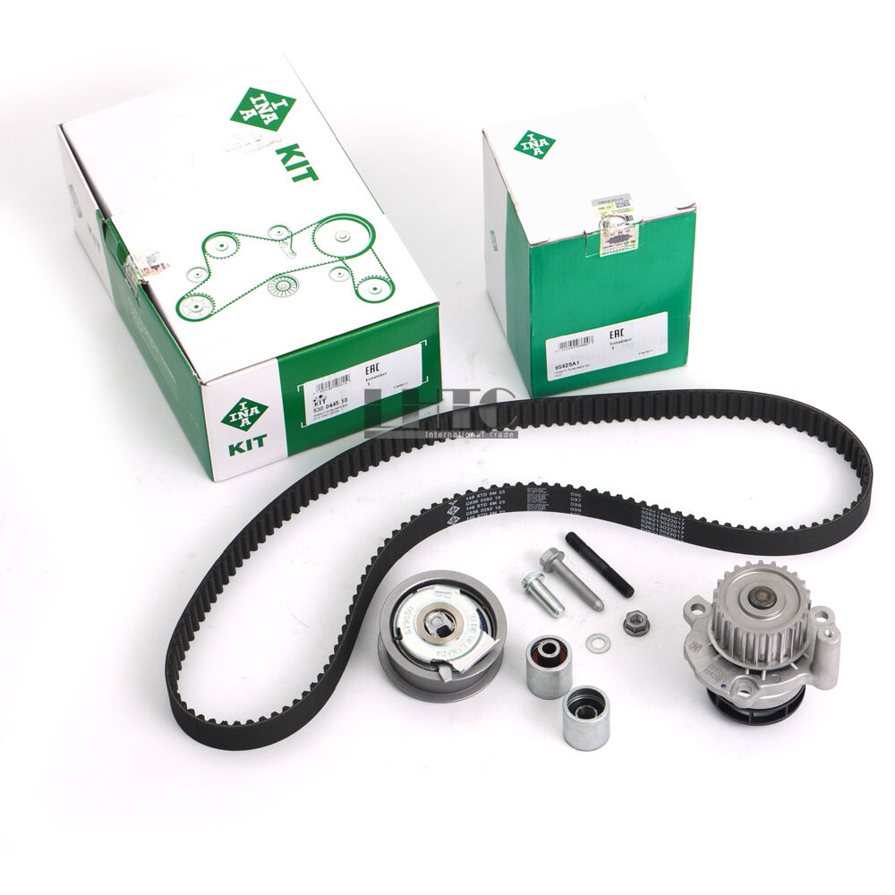 INA Genuine Water Pump Timing Belt Tensioner Kit For V W G TI Pa ssat AUDI A4 2.0 FSI BPY Audi A3A4 A6 TT TTS