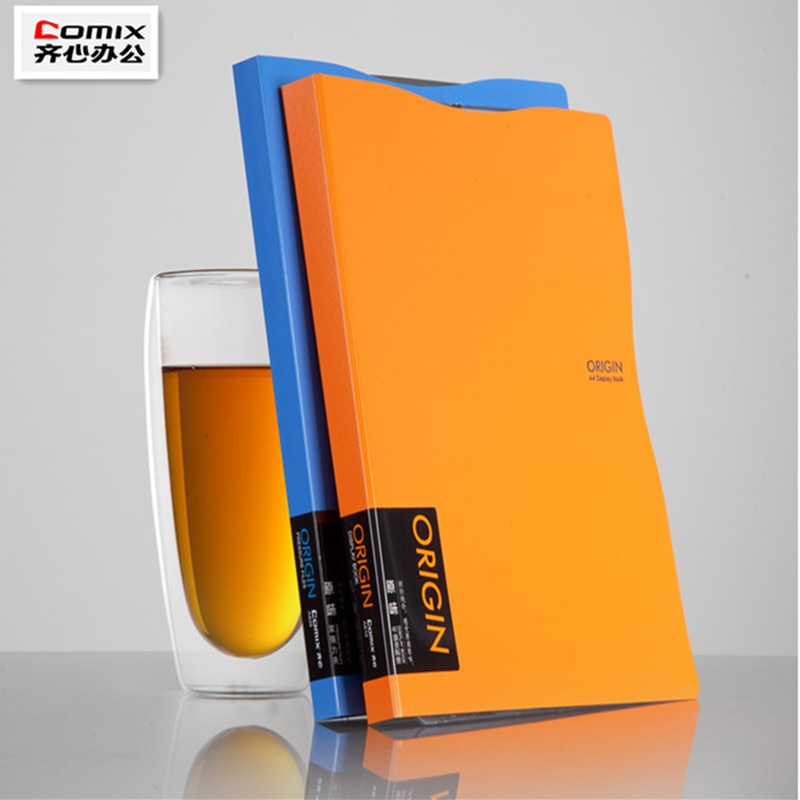 office A4 folder, Cute High-quality brand file book,a4 clip file report Document ,Office Supplies Stationery file folder