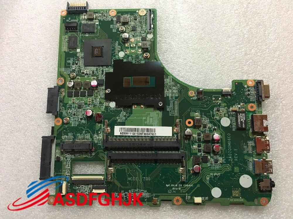 DA0ZQ0MB6E0 NBMN111001 ملحوظة. MN111.001 اللوحة الرئيسية لشركة أيسر أسباير E5-471G V3-472G اللوحة المحمول SR1EF I5-4210U 100% TESED موافق
