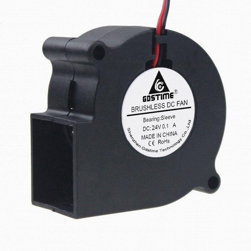 Gdstime 1 Uds 6cm 6028 extractor ventilador 24V DC 2Pin enfriador para PC CPU disipador térmico VGA 60mm x 28mm