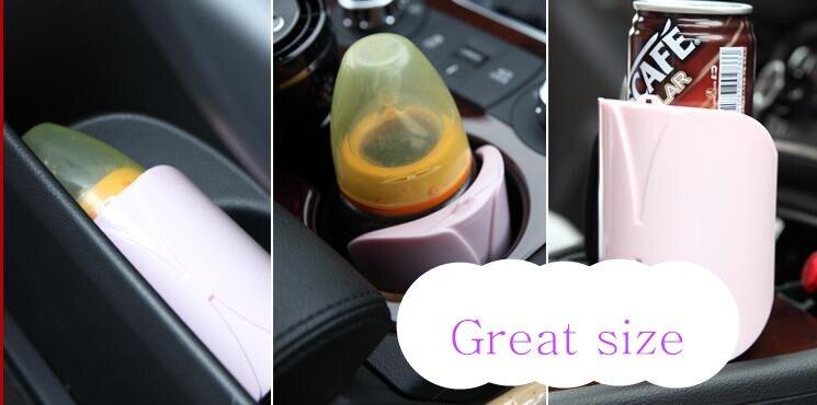 Suministro de alimentación de bebé para coche, calentador eléctrico portátil para botellas de viaje y leche, calentador de para coche de 12 V y hogar opcional