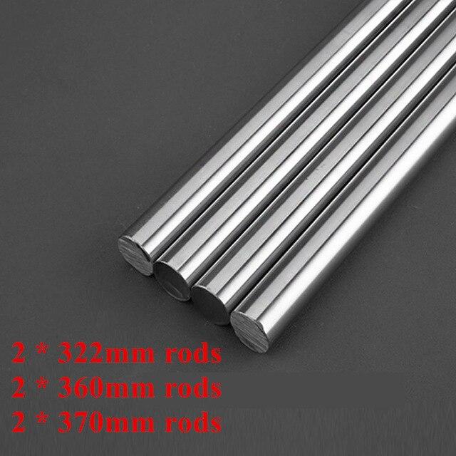 6 unids/set suave barras 8mm eje lineal kit para Prusa i3 MK2s/MK3 3D impresora actualizar a Zaribo 220/320