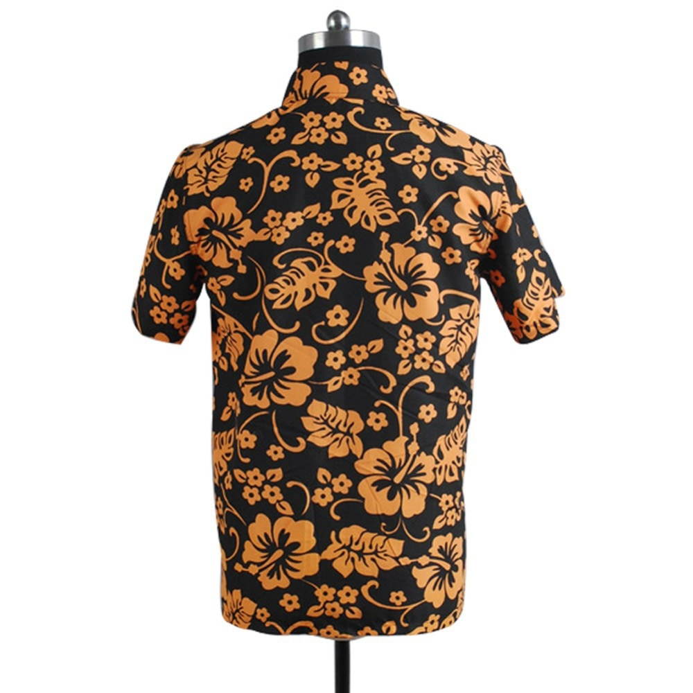 Dropshipping Fear and Loathing in Las Vegas Raoul Duke Short Sleeves Shirts Cosplay Costumes Hallowe