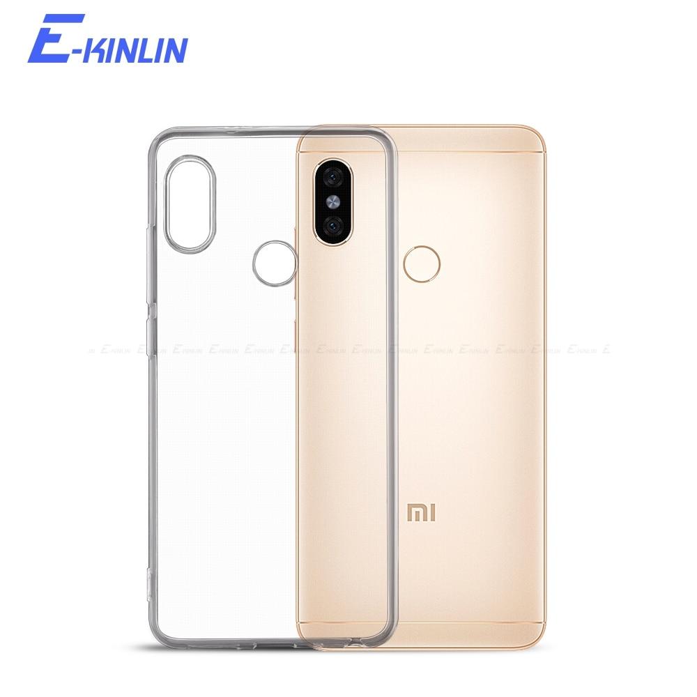 Ultrafino de silicona cubierta transparente para Xiaomi Redmi Note 10 9 9s 8T 87 6 5 S2 9T 7A 6A 8A A1 A2 Lite A3 Pro Max Plus SE caso de TPU