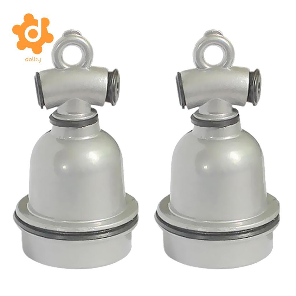 2 piezas E27 impermeable de aluminio bombilla lámpara calentador de titular de lámpara para la vaca cerdo