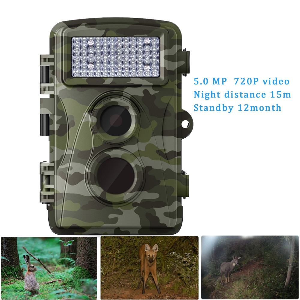 1 PCS HD 5MP Wireless Standalone Wide Life Camera 720P Digital Trail Animals Surveillance Security Protection hunting use