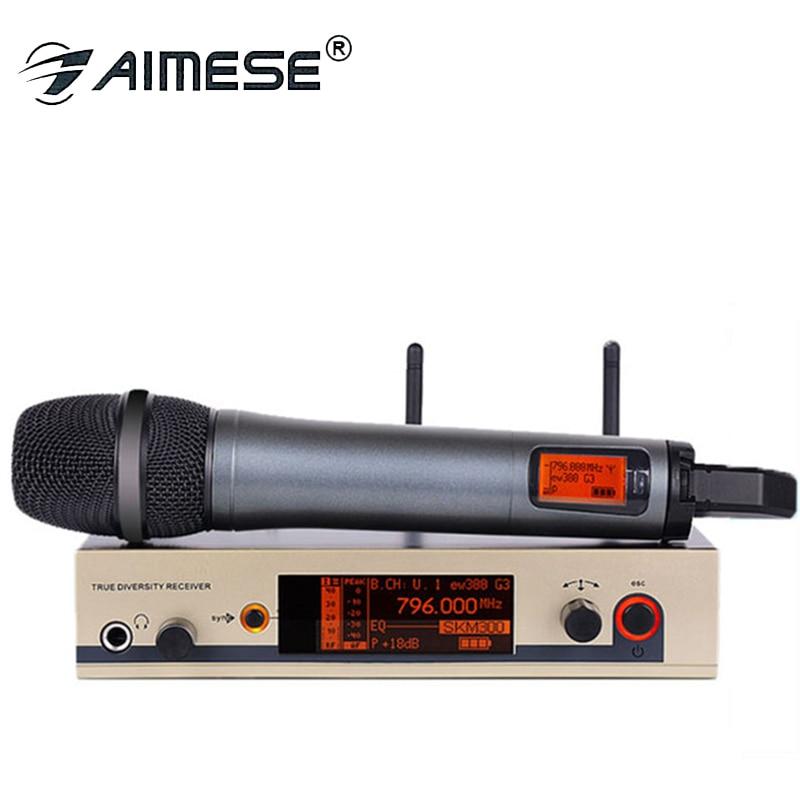 335G3 300G3 EW UHF Microfone Sem Fio profissional microfone sem fio Sistema de Microfone Sem Fio Handheld microfone skm marca G3