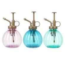 Vaporisateur plastique Portable 3 couleurs 350 ml   Mini bouteille darrosage, fleurs darrosage, jardin manuel, pulvérisateur ménager vide, 1 pièce