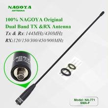 Antenne NAGOYA originale NA-771 sma-femelle adaptée à lantenne bidirectionnelle UV-5R Radio UV-82 bibande